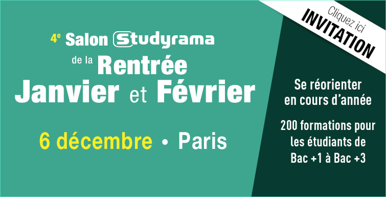 Salons studyrama 5 et 6 d cembre 2015 radio campus paris for Salon des ce paris 2015