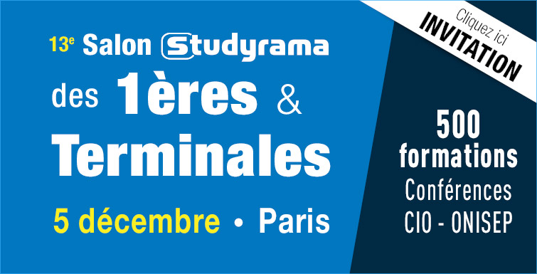 Salons studyrama 5 et 6 d cembre 2015 radio campus paris - Studyrama salon paris ...