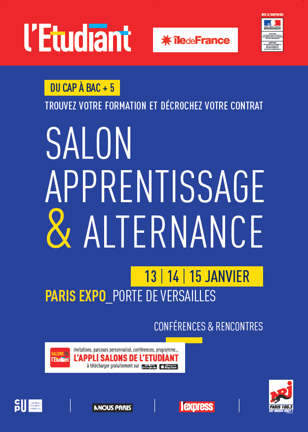 Salon de l 39 apprentissage et de l 39 alternance parc expo - Salon de l alternance et de l apprentissage ...
