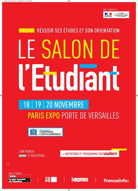 Salon europ en de l 39 ducation paris expo radio campus paris for Porte de versailles salon formation artistique