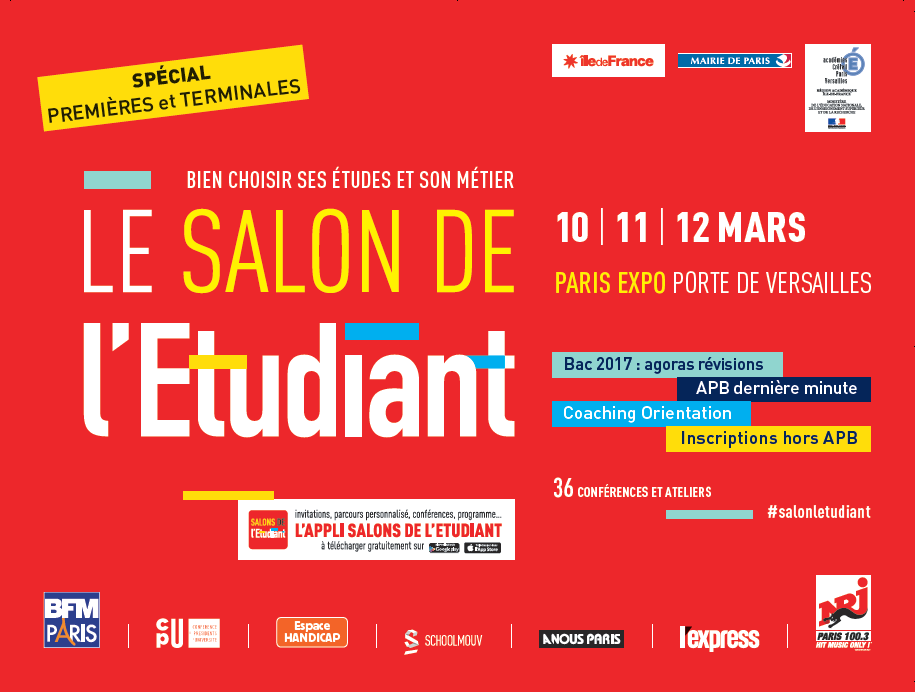 salon de l 39 etudiant parc des expositions radio campus paris