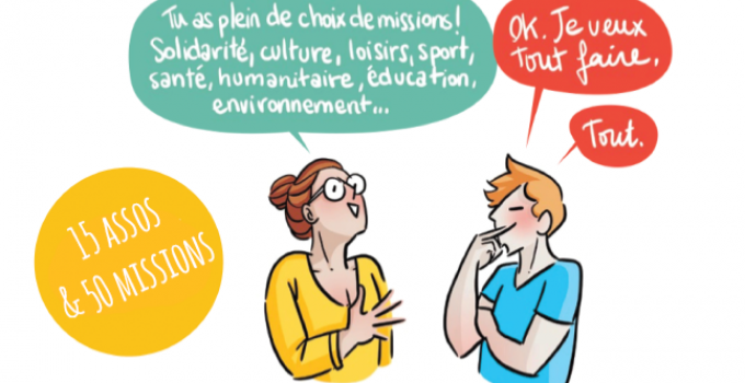 Forum du service civique par Animafac & MIE