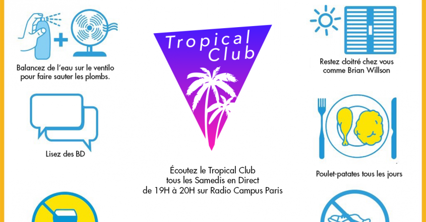 Tropical Club #54 // 23.06.17