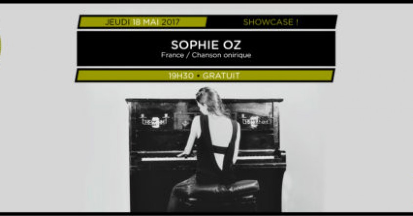 Showcases Balades Sonores – Sophie Oz // 01.06.2017