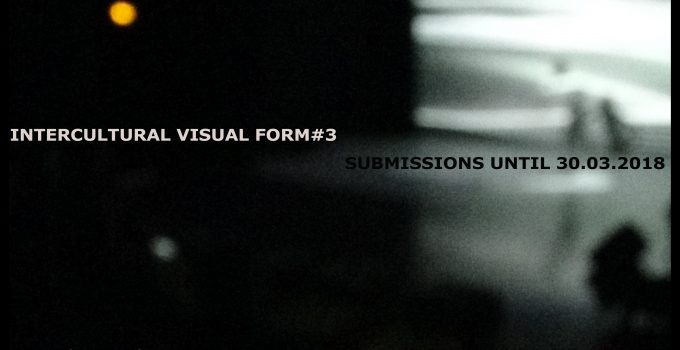 Intercultural Visual Form#3 OPEN CALL