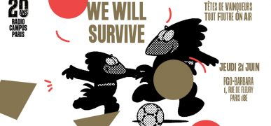 21.06 – We will survive // 20 ans