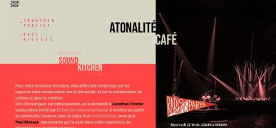 Atonalité Café – 10.10.21 Sound Kitchen